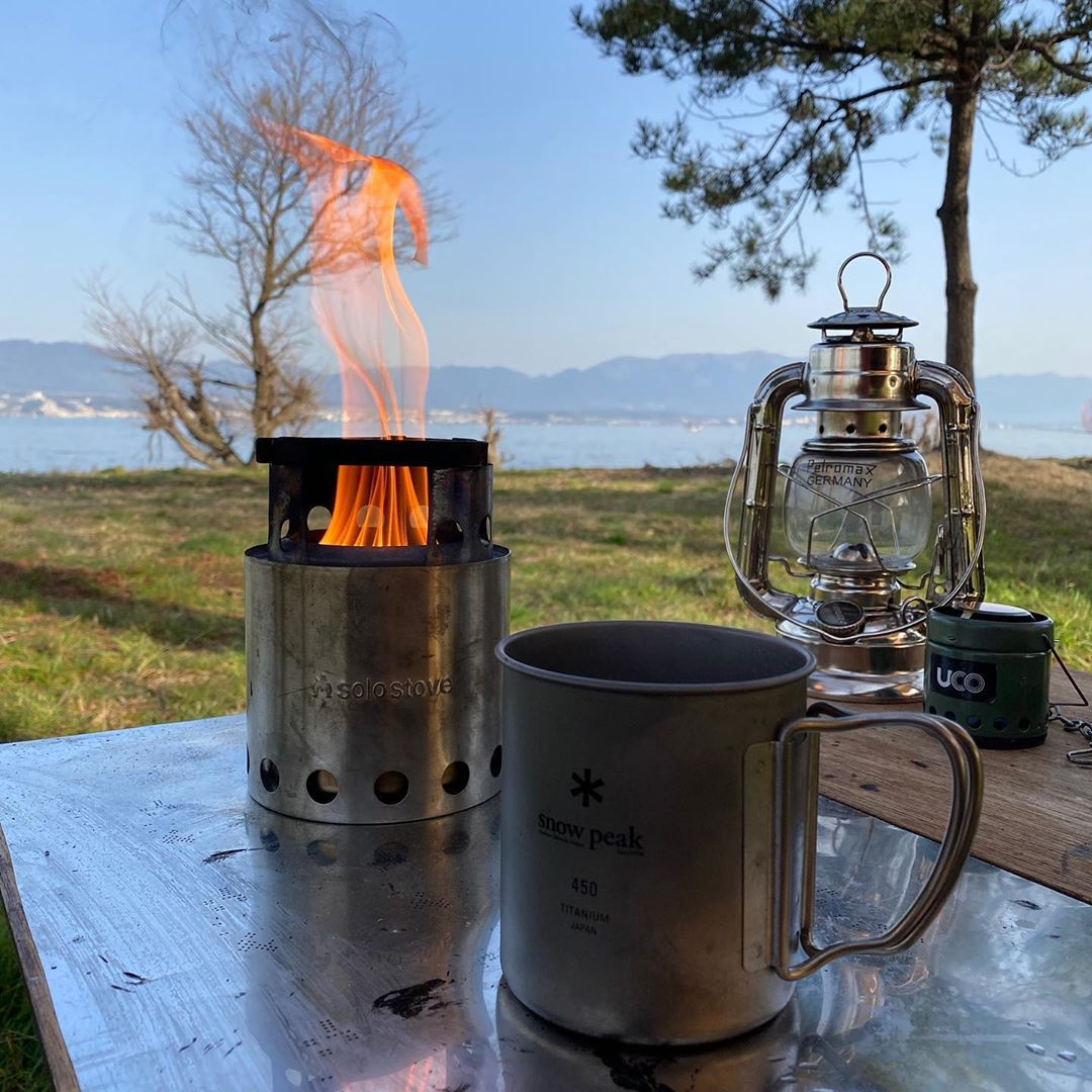 wood burning backpacking solo stove lite