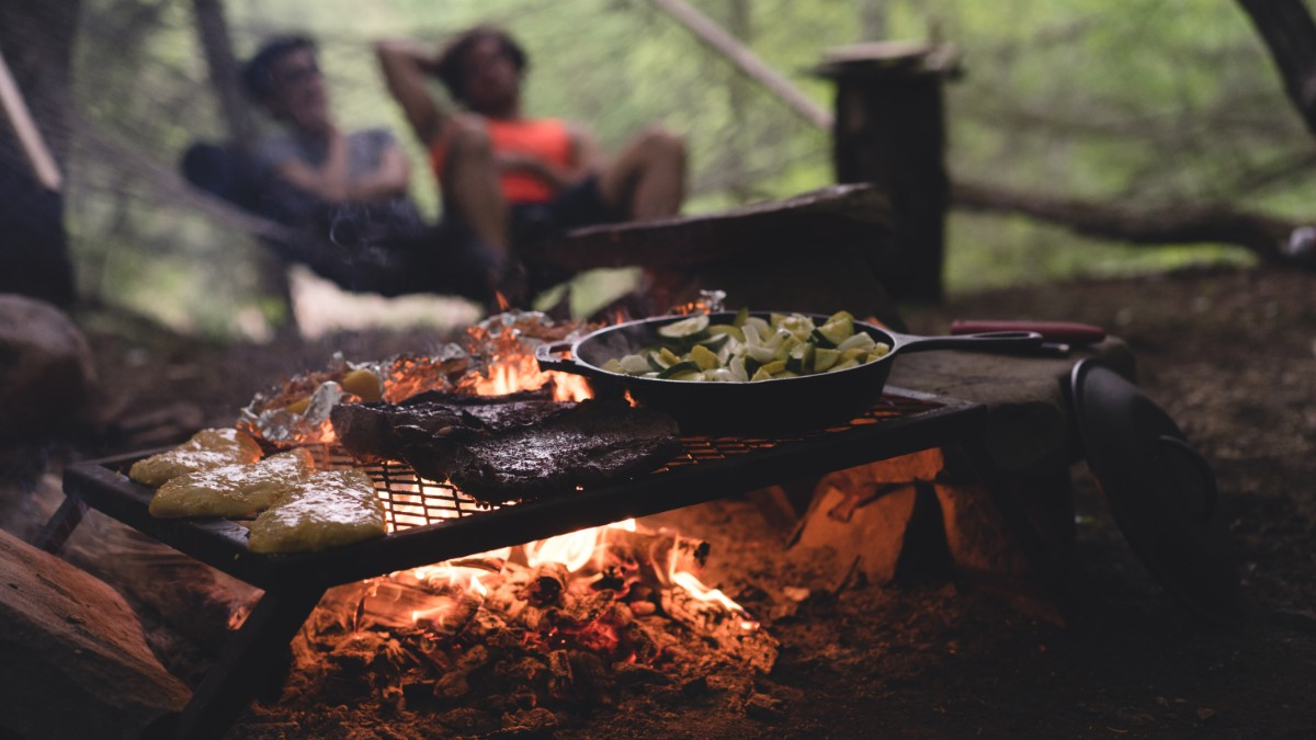 wood burning backpacking stove barbecue